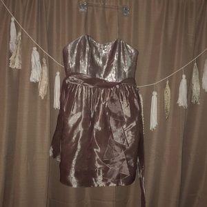Babydoll sequin top dress